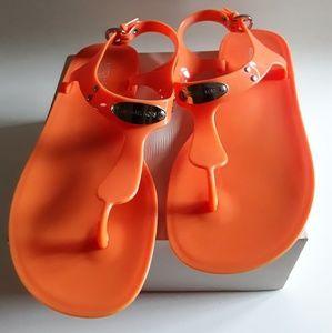 Michael Kors jelly sandal Size 7